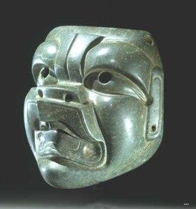 5 Máscara olmeca_pedra