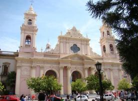 Fachada Catedral de Salta