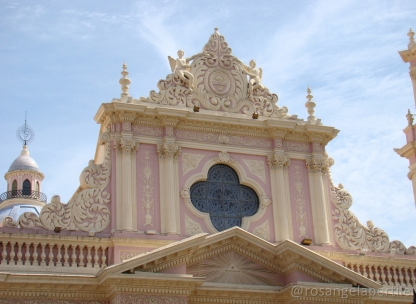 Parte superior da fachada