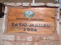 Complexos de Geiger em São Pedro de Atacama, Chile.